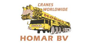 Homar BV cranes worldwide